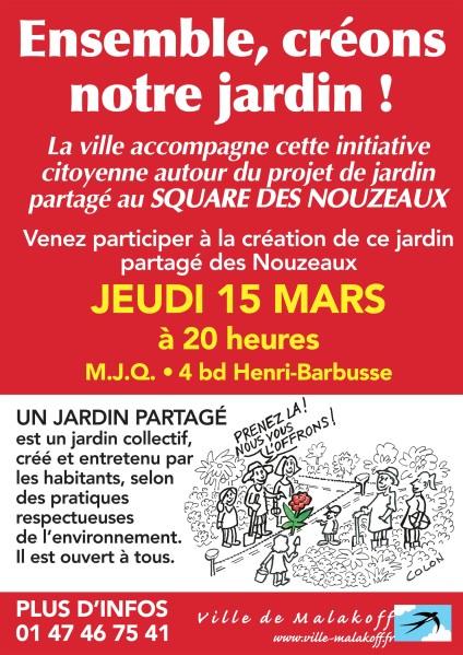 15 mars à la MJQ - Réunion publique