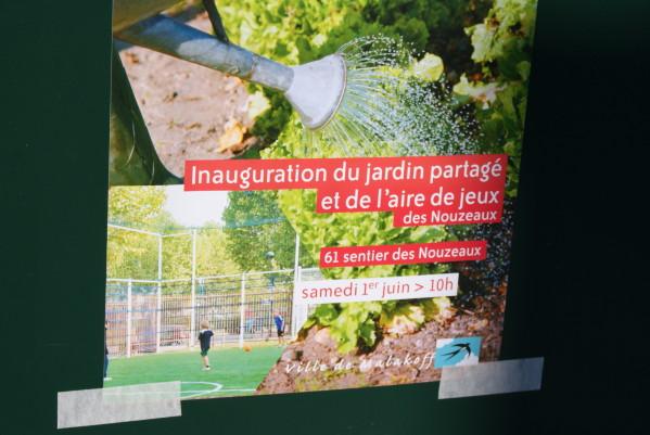 Inauguration officielle du jardin des Nouzeaux1