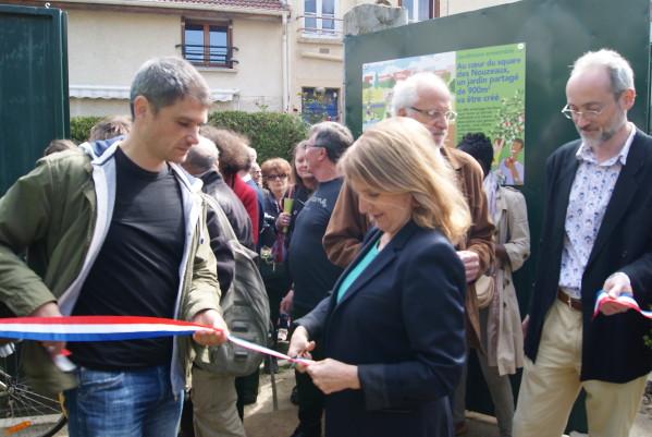 Inauguration officielle du jardin des Nouzeaux4