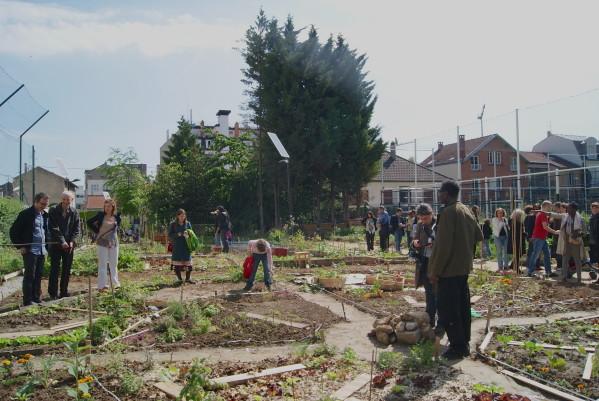 Invitation à la Fête des jardins aux Nouzeaux