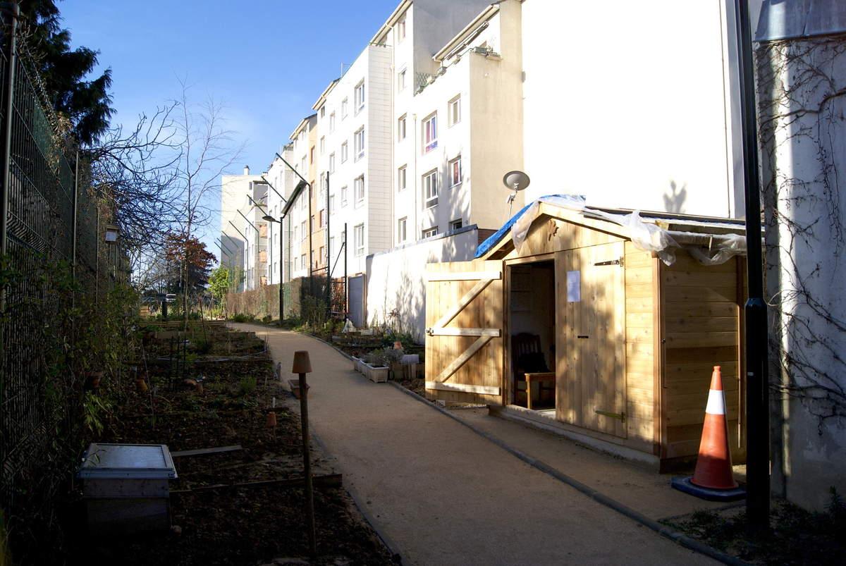 La cabane au jardin des Nouzeaux
