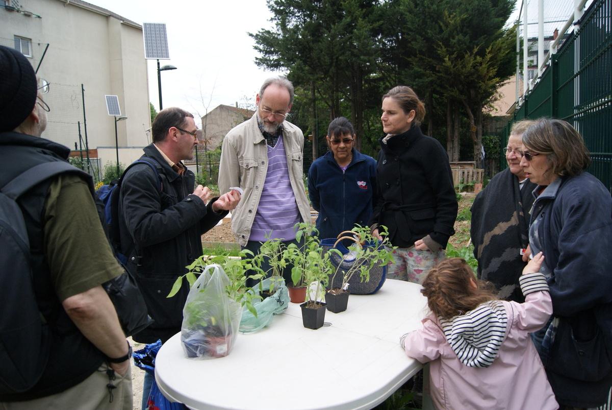 L'atelier jardinage de Martin