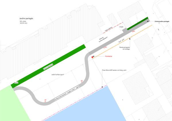 Le plan proposé par la mairie