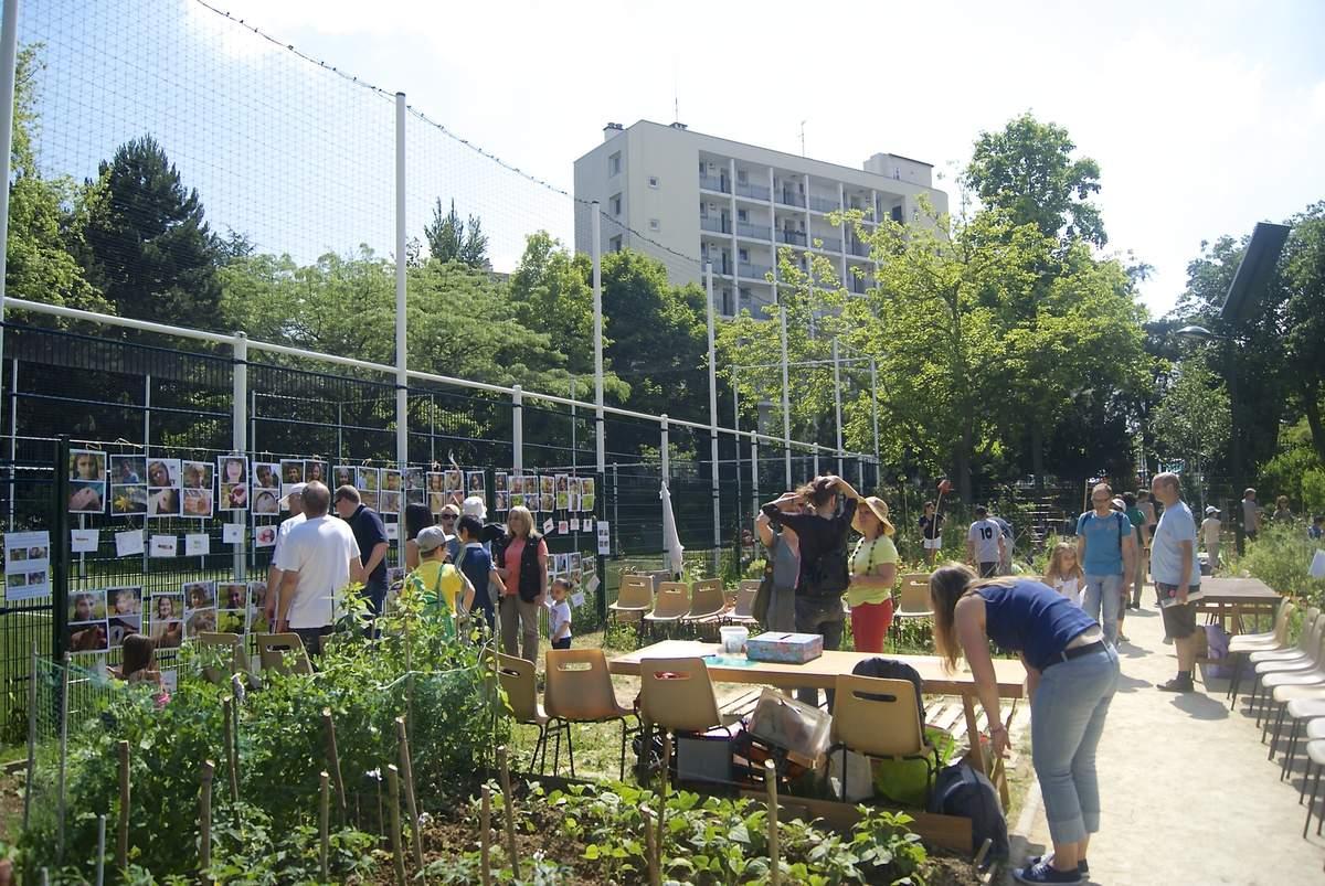 Les bestioles du jardin partagé des Nouzeaux vues par les enfants